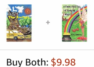 Both my books on Amazon Pic